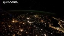 [Watch] the glow of Europe by night from Space