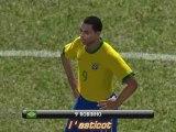 PES 2008. Argentina - Brazil (Demo PC) Part.1