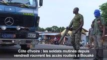 Côte d'Ivoire : les mutins ont ouvert le corridor de Bouaké