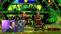 Benedict Cumberbatch commentates Strictly Come Dancing-