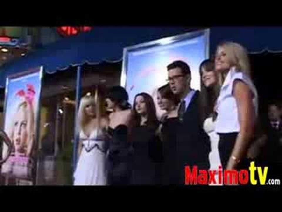 Anna Faris Emma Stone Kat Dennings Katharine Mcphee Rumer Willis At The House Bunny Premiere Video Dailymotion