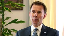 Jeremy Hunt: No second wave of attacks on NHS