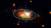 Hubble Detects a Rogue Supermassive Black Hole
