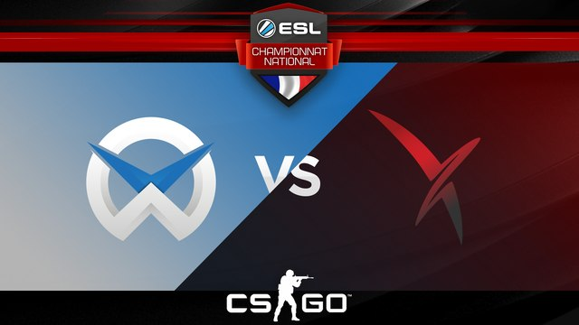 CS:GO - WySix vs Vexed - Inferno - Championnat National ESL - Summer 2017 - Map 2