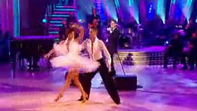 Michael Buble Performs in Strictly Come Dancing