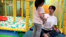 [베드 베이비] 서은이와 엄마 누가 이길까요 사탕 뺏기 놀이 뽀로로 키즈카페 츄파춥스 롤리팝 Bad Baby chupa chups