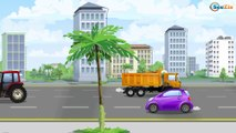 Videos for kids w The Police Car and Speed Racing Cars in the City - Cars Cartoons New Animation