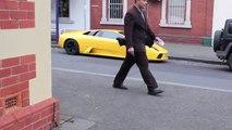 Unbelievable first gen Murciélago on Lygon Street in Melbourne,ads Australia.
