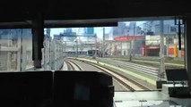 【前面展望】[JU・JT]JR上野東京ライン東海道線直通 熱海行 上野(UEN JU02)〜東京(TYO JU01 JT01) E231系1000番台