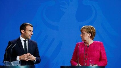 """Макрон і Меркель обіцяють Європі """"історичну реконструкцію"""""""