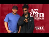 Jazz Cartier Freestyles Live on Sway in the Morning