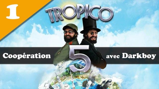TROPICO 5 - Coop #01 : La dictature à deux !   GAMEPLAY en direct FR