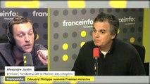 """Jardin à propos d'E.Philippe : """"à la fois complètement élu local au Havre et centralisateur à Paris"""""""