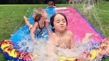 FAIL d'été - Toboggan, jets d'eau, water slides - compilation bien fun