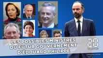 Qui sont les possibles futurs ministres du gouvernement d'Edouard Philippe?