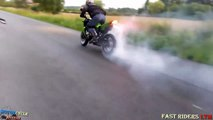 BIKERS Compilation 2017 outs, Wheelies, Stoppies, Beautiful Exhaust Sound