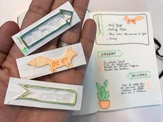Fabriquer des tampons à partir de gomme du bureau