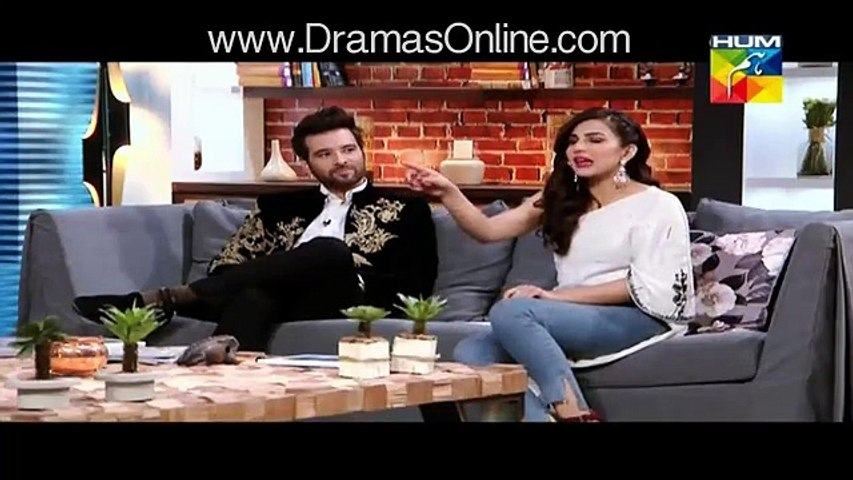 Fawad Khan is overrated Ushna Shah said in live interview