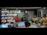 No.3 NBA Draft Pick Jaylen Brown Joins Sports Report w/ Jalen Rose, Mo Peterson and Zeke Thomas