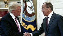 Trump defends sharing info with Russians