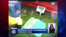 Resultados de operativo antidrogas entre Ecuador y España