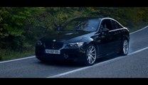 BMW M3 Vossen CVT burn out film launch