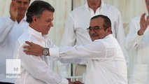 Colombian President wins Nobel Peace Prize for efforts to end 52-year-old conflict