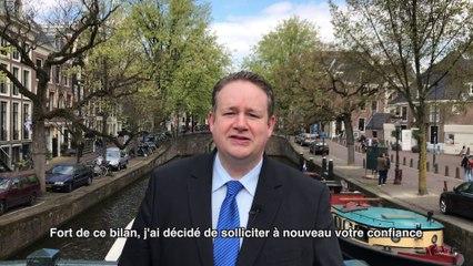 Annonce de candidature - Philip Cordery, votre député du Benelux 2017