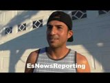 """Josesito Lopez on helping young fighters: """"Through sports it opens up their mind"""" - EsNews Boxing"""