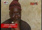 Émouvant: Lamine Samba craque et fond en larmes ! Regardez