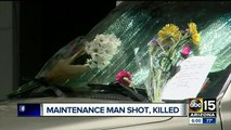 Maintenance man shot, killed by woman that was shot and killed later by police