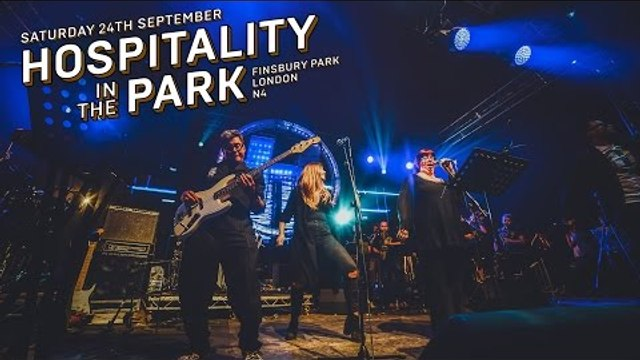 London Elektricity Big Band -  Just One Second (Live At Hospitality In The Park 2016)