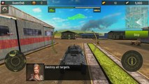 Grand Tanks Tank Shooter Game - Android Gameplay HD | DroidCheat | Android Gameplay HD