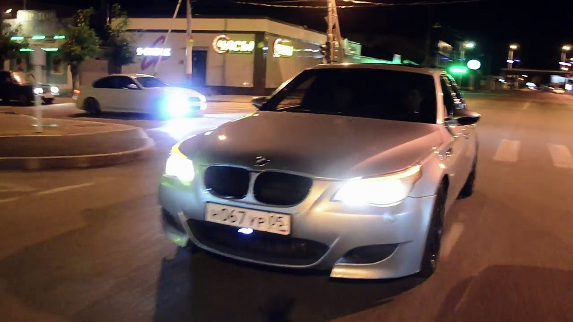 Bmw M5 E60 Drift In City Video Dailymotion