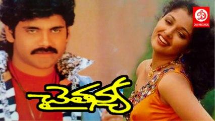 Chaitanya || Telugu Full Movie || Nagarjuna, Gouthami