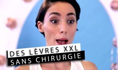 Les Tutos de Morgane - Des lèvres XXL SANS CHIRURGIE !