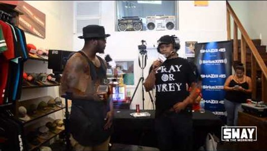 Round 1: Local Orlando MCs Freestyle on Sway in the Morning