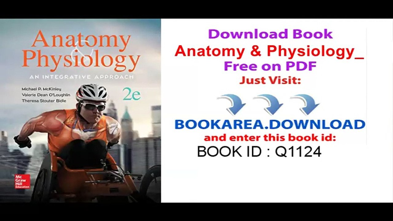 anatomy and physiology an integrative approach pdf free
