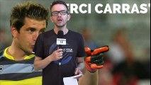 Réaction au départ de Cédric Carrasso
