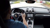 Best Sport Cars    Porsche Boxster  Speed manual transmission Sport Chrono Package rev matching