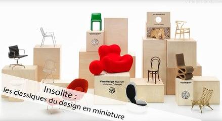 Insolite : les classiques du design en miniature