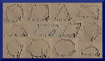 Sand Shapes - Learn Geometric Shapes - The Kids' Picture Show (Fun & Educational Learning Video)