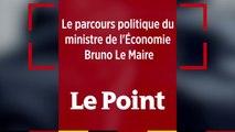 Le parcours politique de Bruno Le Maire, ministre de l'Économie du gouvernement d'Édouard Philippe