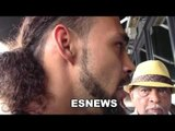 keith thurman reacton to Leonard & Hearns Saying porter fight is like their fight  EsNews Boxing