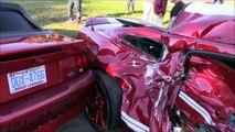 Compilation de crashs en voitures