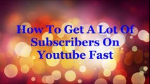 Get Free Youtube Views, Likes and Channel Subscribers