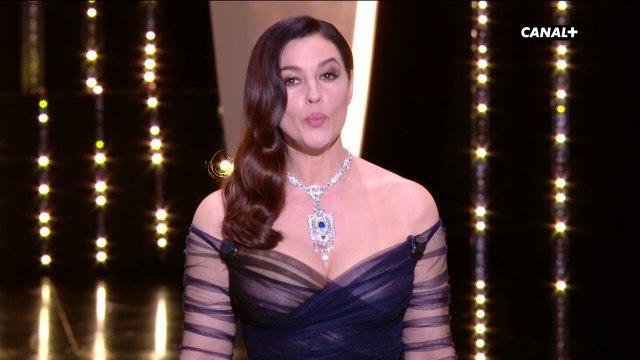 Discours d'ouverture de Monica Bellucci pour les 70 ans du Festival de Cannes