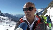 Hautes-Alpes : le déneigement spectaculaire du Col du Galibier, à la frontière de La Savoie