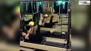 Alia Bhatt Work Out Video With Trainer Yasmin
