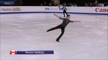2016 Nicolas Nadeau Junior Worlds LP Warm-Up Clip + Pre-LP Clip + Medal Ceremony Clip (Canadian Coverage) 1080p